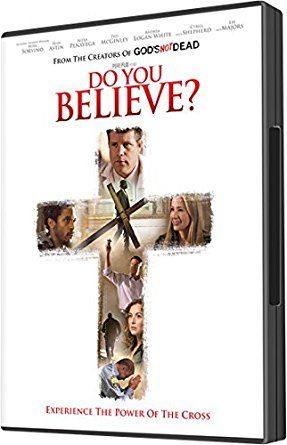 """Do You Believe? DVD """"Do you believe in the cross of Christ?"""" """"If you believe... what are you gonna do about it?"""" Twelve individuals in one city each have to answer this question as their lives intertwine and they come face to face with the cross... One of the best Christian films I've EVER seen... It will impact, encourage, stir and inspire you to answer for yourself: """"If you believe, what are you gonna do about it?"""" {affiliate}"""