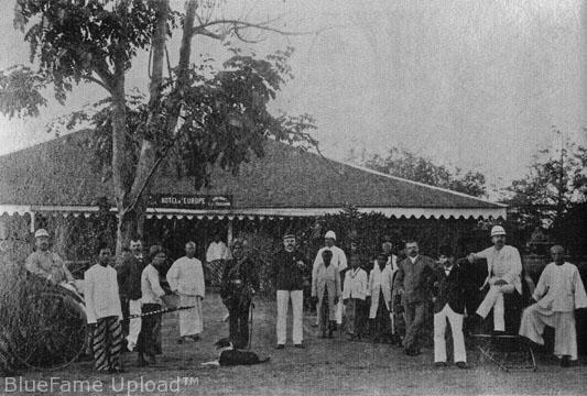 Hotel De l'europe di Kutaraja tahun 1892
