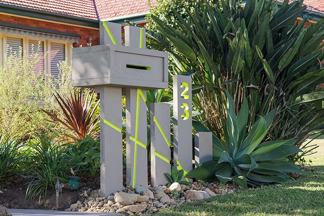 How to build a letterbox: Build a statement letterbox for your front yard - the postie will never miss your place again!