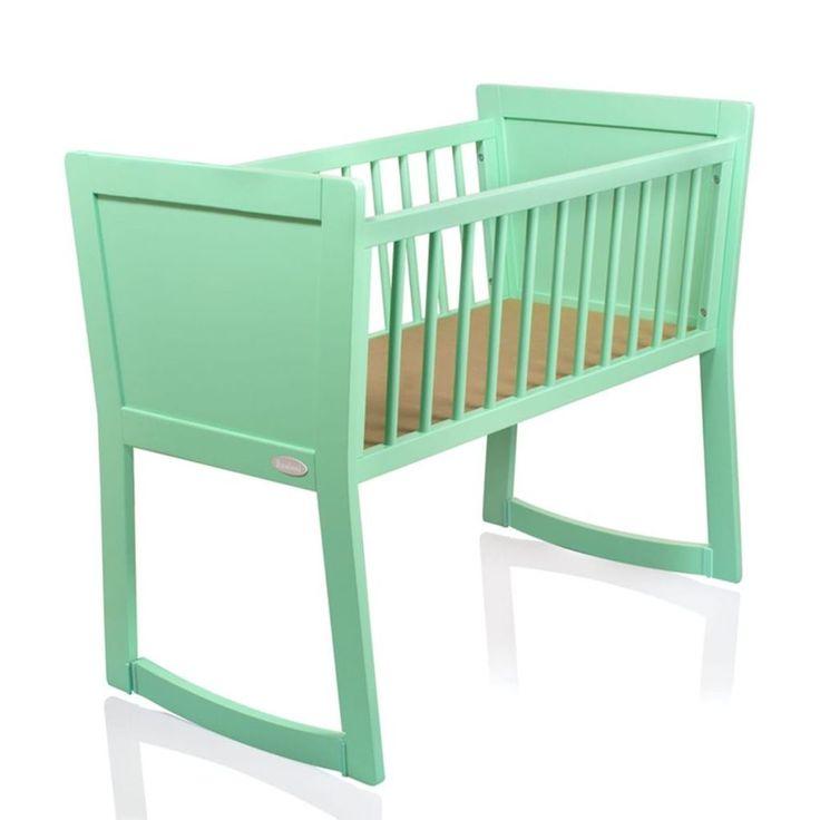 Baby Sleeping Crib Wooden Nursery Bedside Child Infant Toddler Pull Turn Curved #BabySleepingCrib #Crib