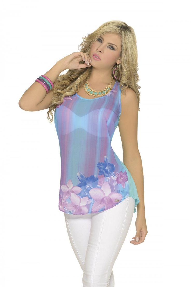 Ropa fashion para mujeres gorditas 1aae7a592265