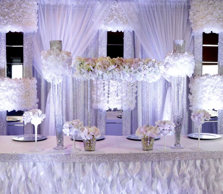Wedding Head Table Decoration Ideas: 78 Best Images About Wedding Bliss In DIY Backdrops On