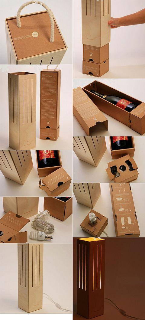 Por fin un embase de vino tan bien diseñado que me hace dudar entre los boards de Wine Packaging y Design.