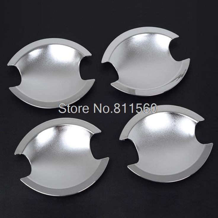 Fit For Mitsubishi Outlander 2010 2011 2012 High Quality ABS Chrome Styling Exterior Side Door Handle Cup Bowl Cover Trims 4pcs #Affiliate