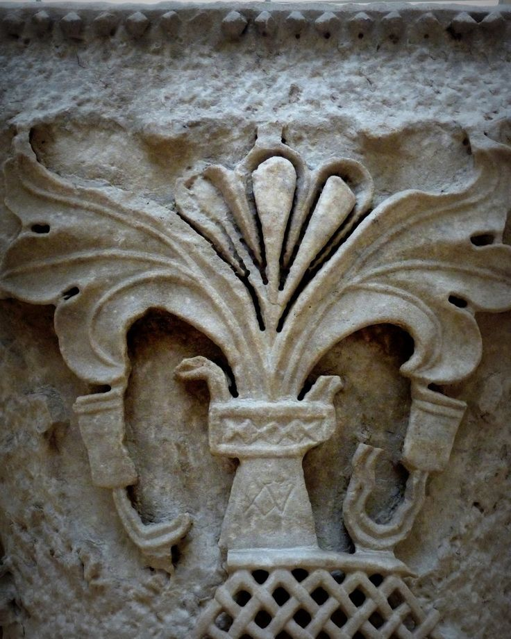 Detail - The remains of the 6th Century Church of St. Polyeuktos, Constantinople
