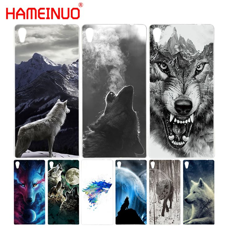 HAMEINUO wolf animal Cover phone Case for sony xperia z2 z3 z4 z5 mini plus aqua M4 M5 E4 E5 C4 C5. Yesterday's price: US $1.99 (1.64 EUR). Today's price: US $1.99 (1.63 EUR). Discount: 50%.