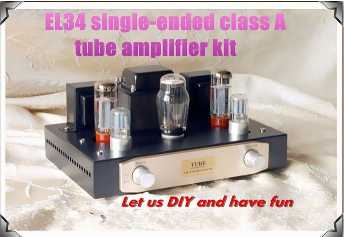 176.72$  Watch here - http://aimtk.worlditems.win/all/product.php?id=32357539541 - Music Hall BOYUN EL34 Single-ended Pure Class A tube amplifier 5Z3P+6N9P Hifi audio DIY KIT 12W*2 110-240V