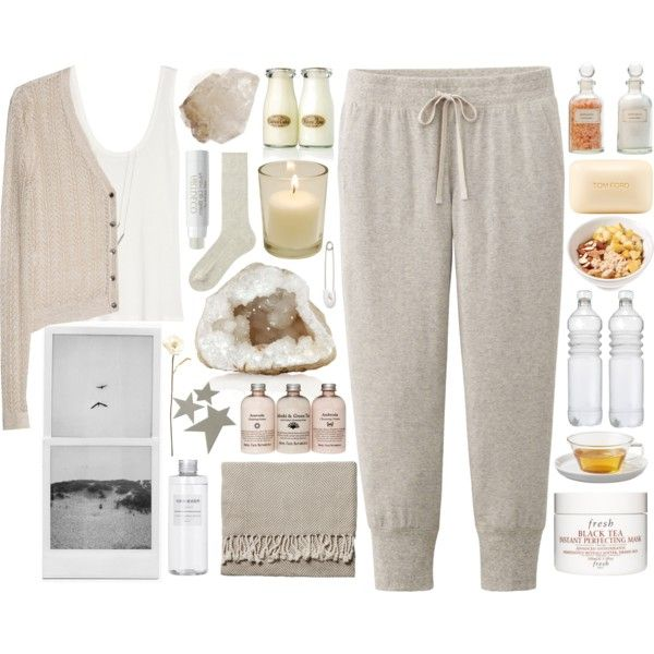 shelter island by serendipityagain on Polyvore featuring MANGO, The Row, Uniqlo, Kristin Cavallari, Fresh, Tom Ford, Serena & Lily, Shabby Chic, Mullein & Sparrow and Muji