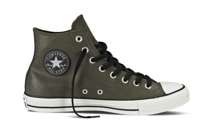 Converse All Star Vintage Leather HI Pineneedle #converse #leather #online #españa #otoño #invierno