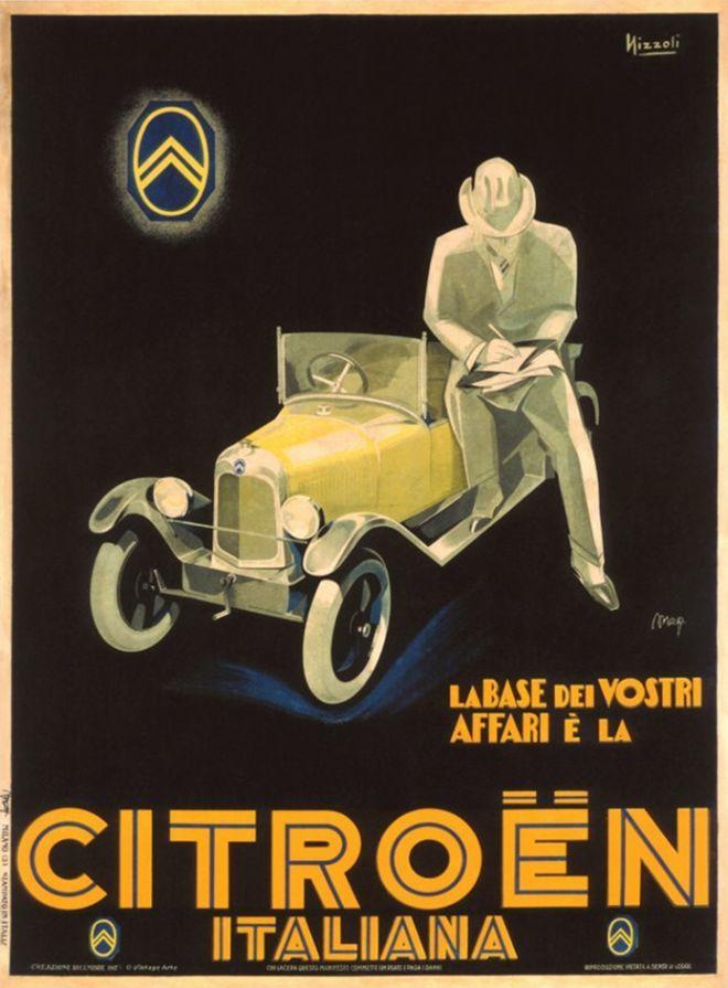 Vintage Citroen Poster