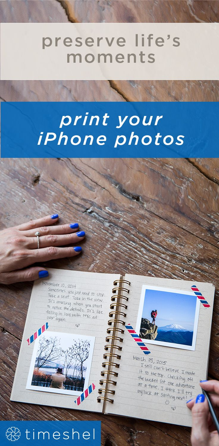 The perfect way to hold on to memories - print your iPhone photos and get them…