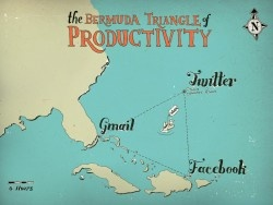 The Bermuda Triangle of productivity... on LOL Wall, by Gaba Banan