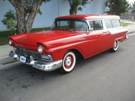 1957 ford station wagons based on two door the ford ranch for 1957 ford 2 door ranch wagon