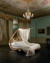 dreamy bed: Beds Canopies, Decoration, Dream, Canopy Beds, Beds Frames, Canopies Beds, Bedrooms Interiors, Beds Design, Joseph Walsh