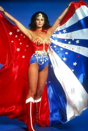 "Vintage Glamour Girls: Lynda Carter in "" Wonder Woman """