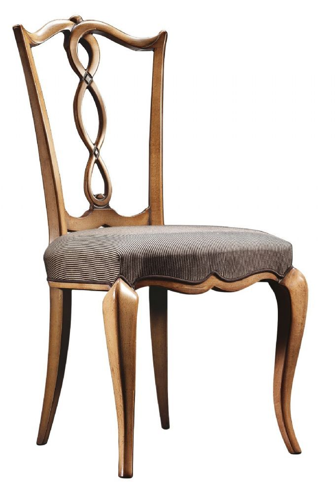 PLATTED BACK SOLID BEECH WOOD UPHOLSTERED DINING CHAIR ...