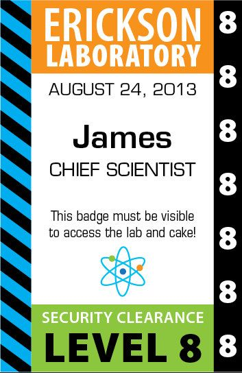 Security Clearance Badges Will Be Personalized With Each Scientists Name
