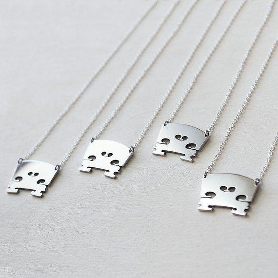 1f809fd44582 Sterling Silver Violin Bridge Necklace. Violin Jewelry. Music Jewelry.  Orchestra. Music Teacher. Gif