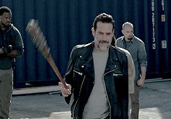 Ok. I have zombie fear. But I may have to get over it to watch this man in TWD.