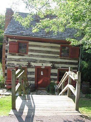 how to build a log cabin without nails