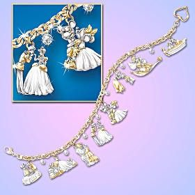 Disney Sterling Silver Charm Bracelet @ disneystoreonline