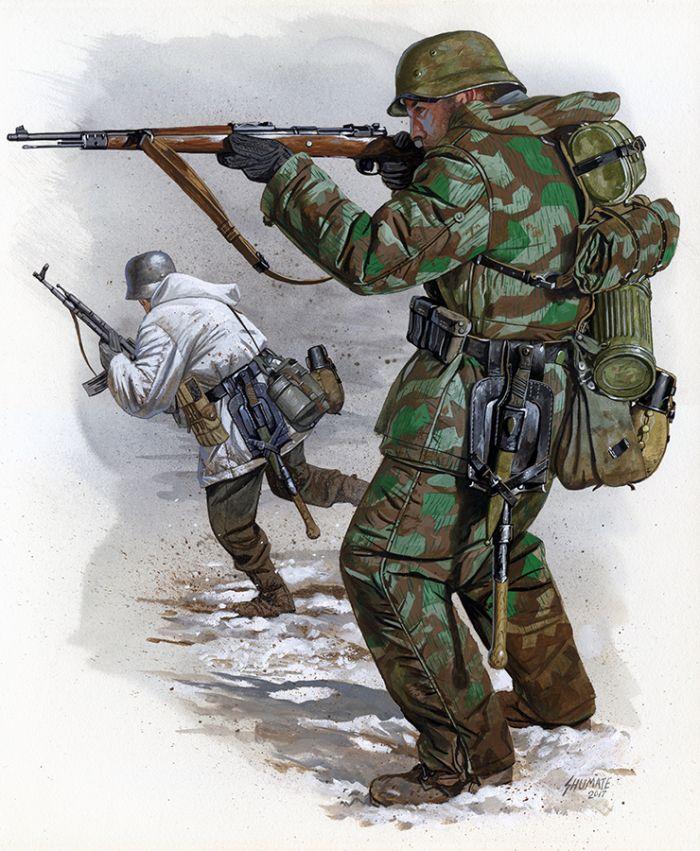 d240de01db Johnny Shumate | Illustration | WW2 Uniforms - Modeling | German ...