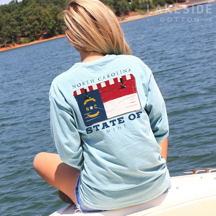 NC State Of Mine Cooler T-Shirt by Live Oak Brand.