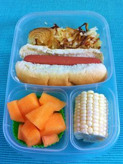 Operation: Lunch Box: Day 169 - Hot Dog Lunch!