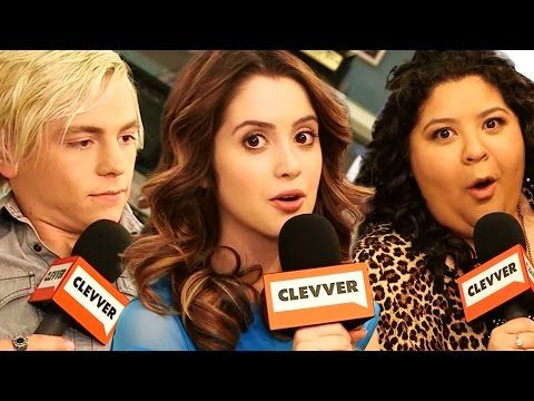 """Austin & Ally"" Cast Play Would You Rather - Ross Lynch, Laura Marano - YouTube"