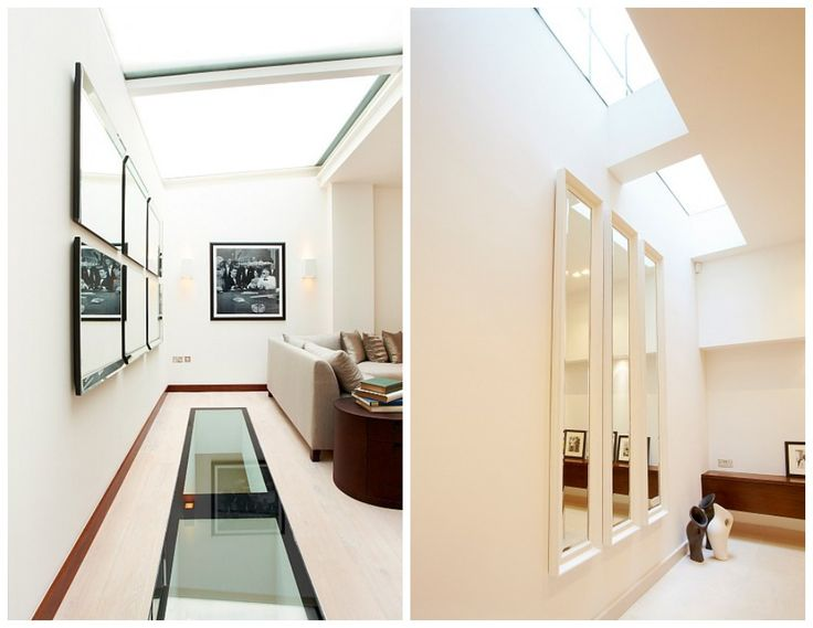 Glass Flooring Allows Light To Flow From The South Facing Roof Terrace  Right Down To The Basement