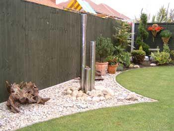 Hot Pebble Garden Design Ideas