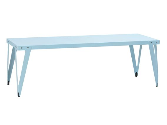 Functionals, Lloyd Dining table Indoor light blue, Design: Serener http://functionals.eu/products/tables/lloyd_table