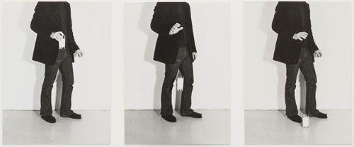 William Wegman. Dropping Milk. 1971. The Museum of Modern Art, New York.