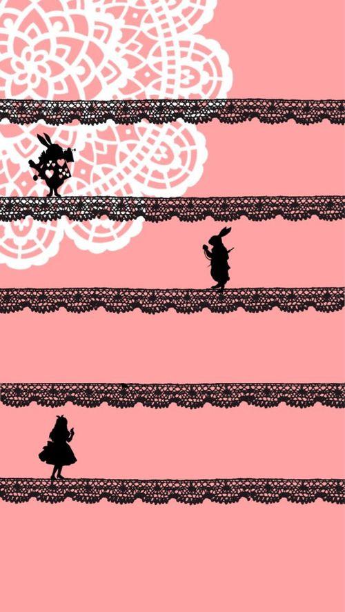 Alice in wonderland telephone wallpaper google keres s - Alice in wonderland iphone wallpaper ...