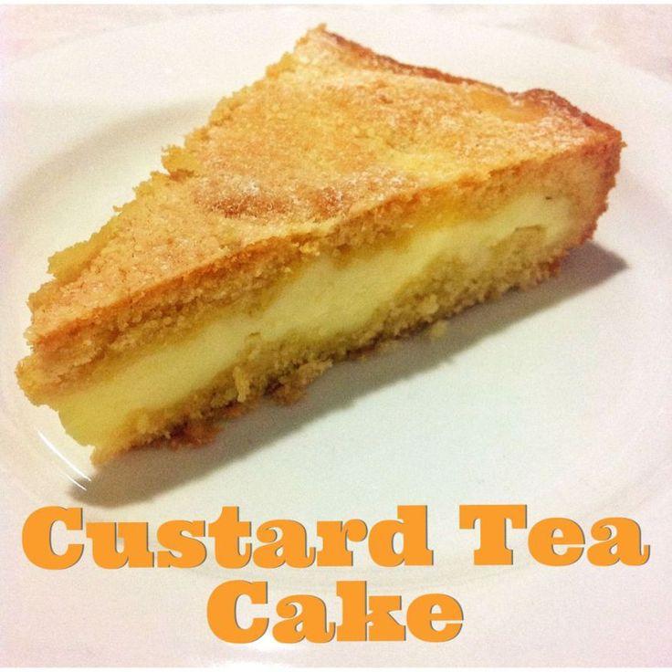 Custard Tea Cake (Thermomix Method Included)   Mother Hubbard's Cupboard
