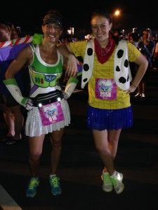 Buzz Lightyear and Woody Running Costumes via Team Shenanigans