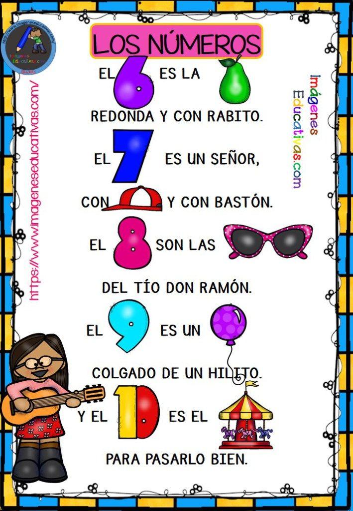 Los Números En Canciones Con Pictogramas Para Educación Infantil Y Preescolar Letras De Canciones Infantiles Canciones Infantiles Preescolar Lectura Cortas Para Niños