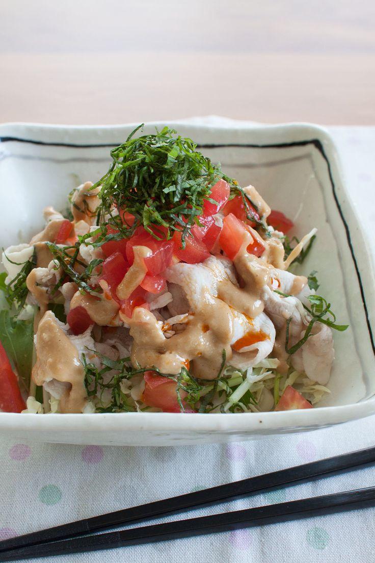 夏の定番 ピリ辛豚しゃぶサラダ by tomo | レシピサイト「Nadia | ナディア」プロの料理を無料で検索