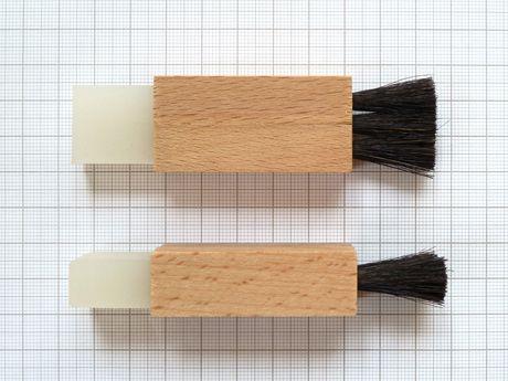 Eraser brush.