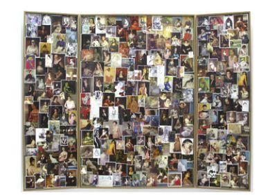 Hans-Peter Feldmann, Seated Women in Paintings, 2008