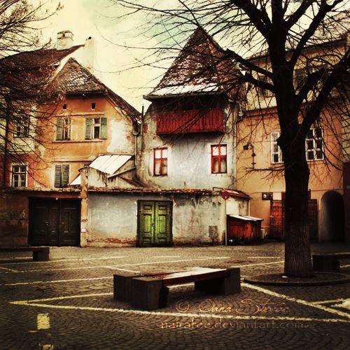 Somewhere in Sibiu by nairafee.deviantart.com on @deviantART