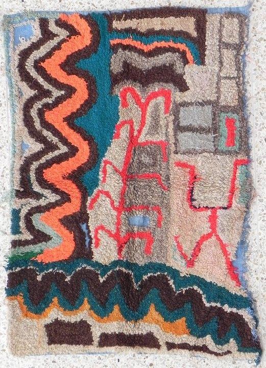 Tribal Rag Rug