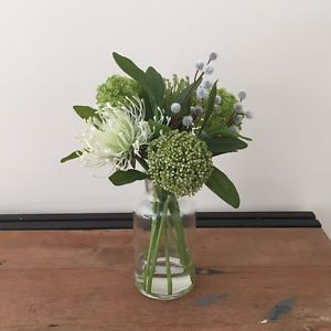 New-Artificial-Fake-Silk-Flower-Australian-Native-Fake-Water-Arrangement-30cm-H
