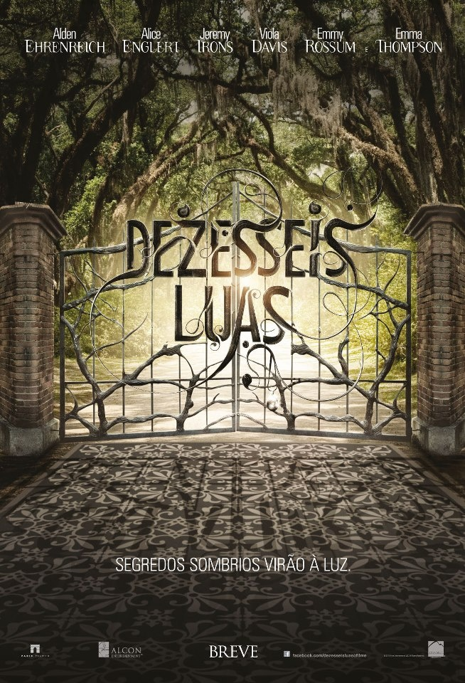 Dezesseis Luas (Beautiful Creatures)  1º de Março.  Site: http://beautifulcreatures.warnerbros.com/  Trailer: http://youtu.be/PsTBNr1pAC8