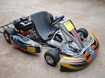 Electric racing go karts