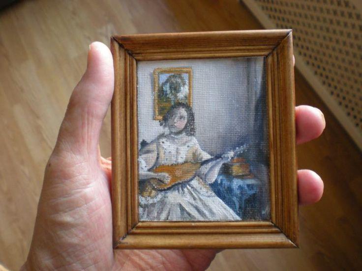 Al de schilderwerkjes in het huis van de schilder zijn door mijzelf met de hand geschilderd