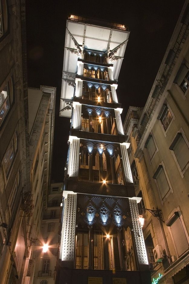 Take A Romantic Ride: Santa Justa Elevator | The 10 Most Romantic Cities On Earth