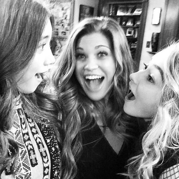 Rowan Blanchard, Danielle Fishel & Sabrina Carpenter #GirlMeetsWorld