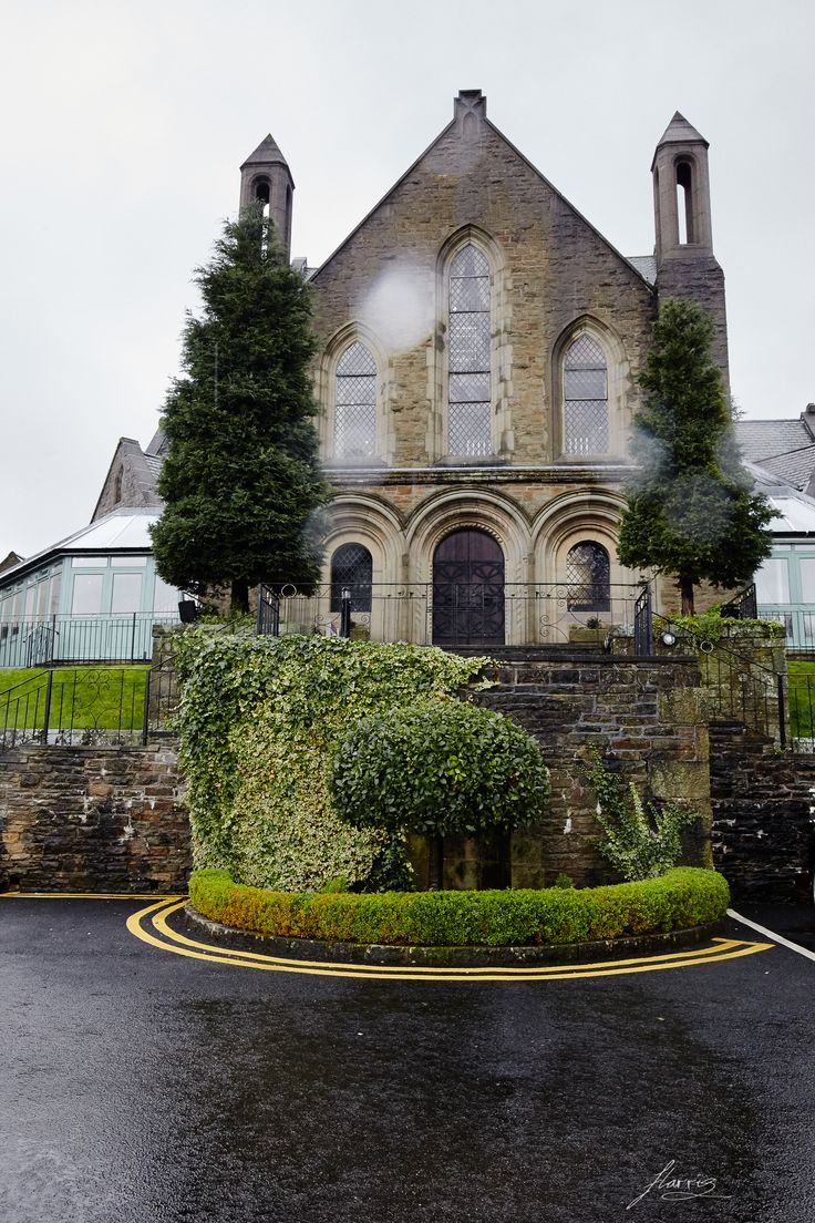 Exterior of the Chapel at Shrigley Hall