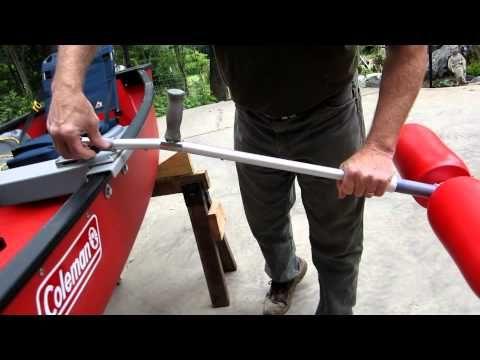 BIRD OF PREY CANOE STABILIZERS - YouTube